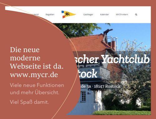 …ich war denn mal weg. Und bin nun wieder da…  Die neue Webseite MYCR.